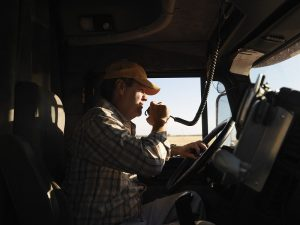 Distracted Driving is a trucker's worst enemy.