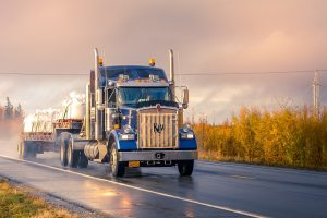 Safe Truck Driving Tips for Autumn